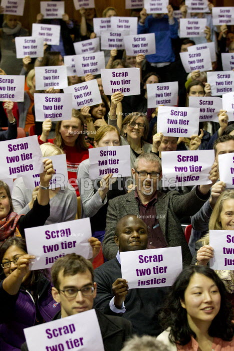Voices for Justice - Save Legal Aid, Justice Alliance rally. Conway Hall. London. - Jess Hurd - 2016-01-06