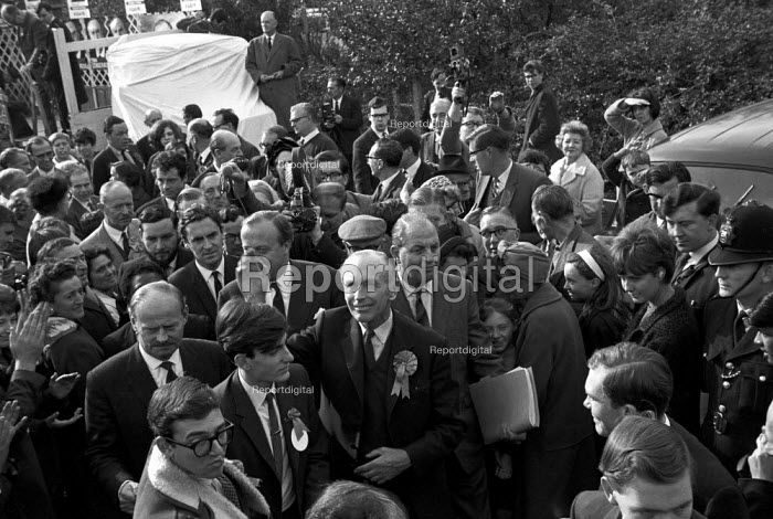 General Election campaign Lord Home, Tooting, London. October 1964 - NLA - 1964-10-12