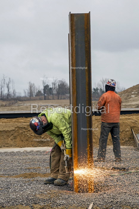Columbiaville, Michigan, Construction of a water treatment plant for Flint, Michigan and surrounding areas. The plant will treat water drawn from Lake Huron through a 70-mile pipeline. - Jim West - 2016-01-09