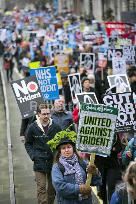 CND Stop Trident national demonstration, Piccadilly, London - Jess Hurd - 2016-02-27