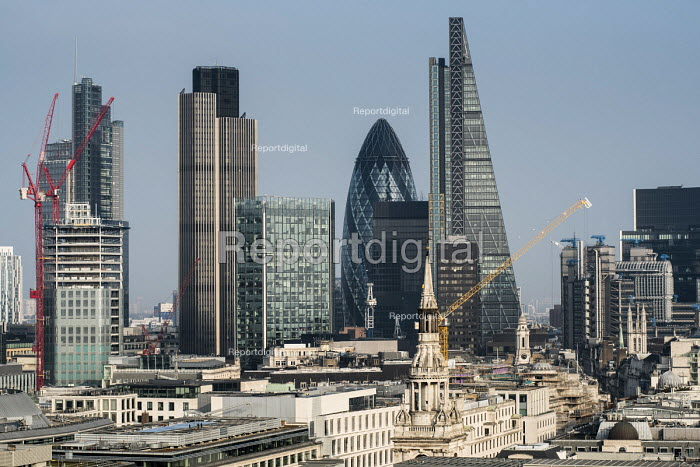City of London, Natwest Tower, Gherkin and Cheesegrater buildings. - Philip Wolmuth - 2016-03-11