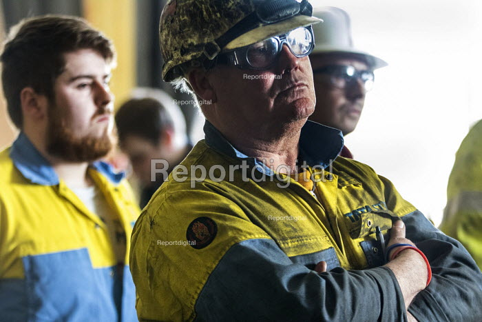 Jeremy Corbyn meeting Tata Steel workers, Port Talbot, Wales - Paul Box - 2016-03-30