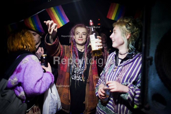 Illegal rave or free party, Huddersfield, West Yorkshire - Connor Matheson - 2016-04-22