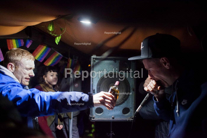 Illegal rave or free party, Huddersfield, West Yorkshire - Connor Matheson - 2016-04-23