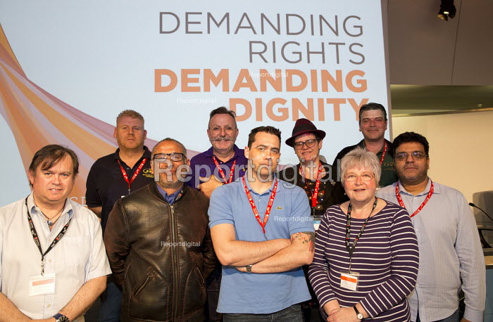 RMT delegation. TUC Disabled Workers Conference, Congress House. London. - Jess Hurd - 2016-05-20
