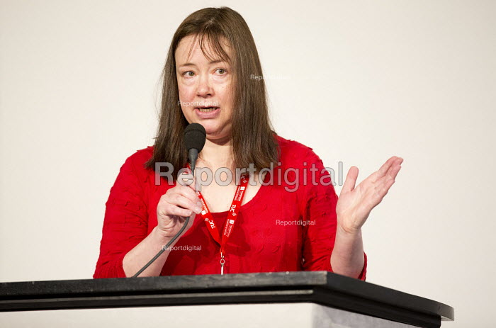 Annie Galpin NUJ speaking at TUC Disabled Workers Conference, Congress House. London. - Jess Hurd - 2016-05-20