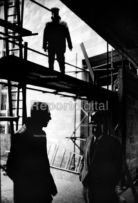 The rebuilding of Coventry Cathedral, completed in 1962, more than two decades after suffering terrible damage as a result of bombing during the Second World War. - Alex Low - 1962-03-03