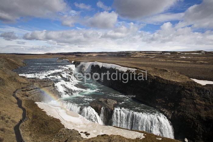 Gullfoss waterfall, Hvita river canyon, Golden Circle, Iceland - Jess Hurd - 2016-05-08
