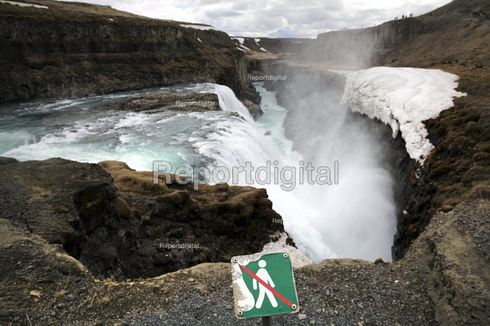 Gullfoss waterfall, Hvita river canyon, Golden Circle, Iceland - Jess Hurd - 2016-05-02