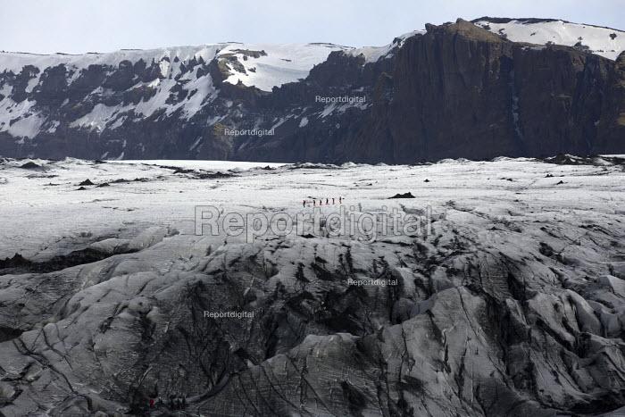Glacial walk across Solheimajokull glacier, Iceland. - Jess Hurd - 2016-05-08