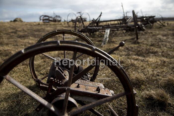 Cookshutt Plow Co made in Brantford, Canada. Plough graveyard, Snartarstadir, Iceland - Jess Hurd - 2016-05-08