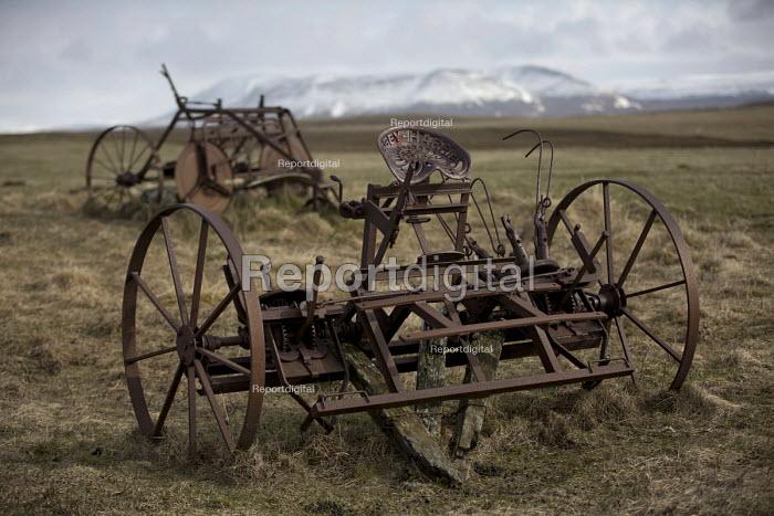 Massey-Harris plow. Plough graveyard, Snartarstadir, Iceland - Jess Hurd - 2016-05-08