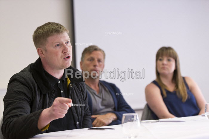 Eddie Dempsey RMT speaking, GFTU Next Generation Festival 2016 - John Harris - 2016-05-14