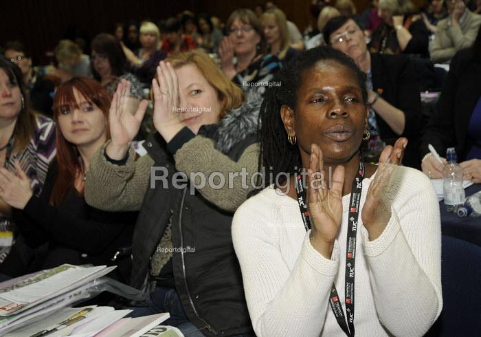 A black woman UCU delegate Women's TUC, 2015 - Janina Struk - 2015-03-13