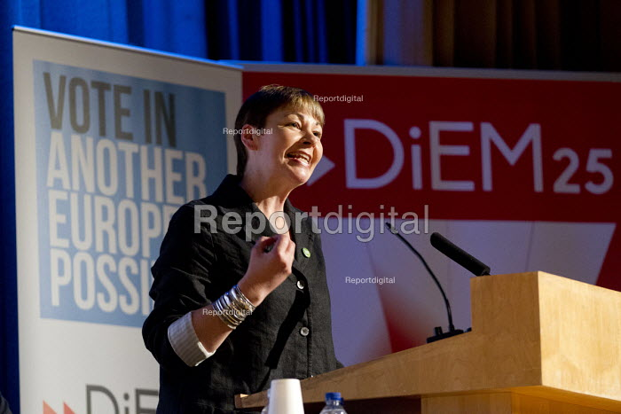 Caroline Lucas, Green Party. Another Europe is Possible conference, Vote In campaign. UCL Institute of Education. London. - Jess Hurd - 2016-05-28