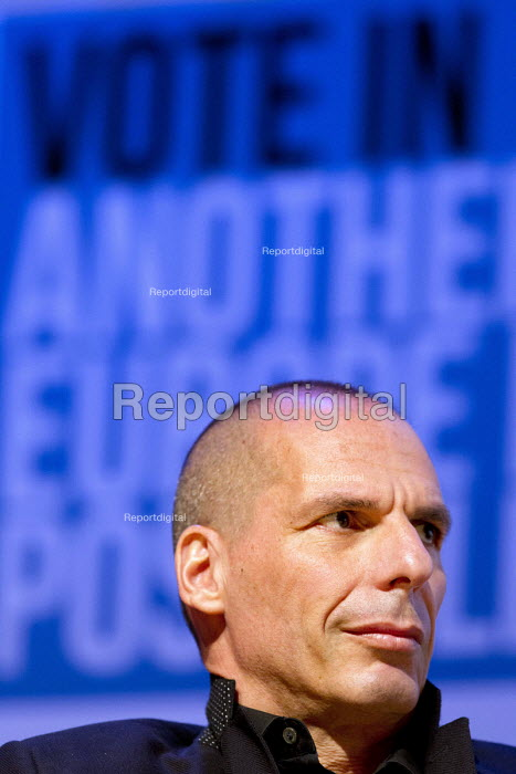 Yanis Varoufakis speaking. Another Europe is Possible conference, Vote In campaign. UCL Institute of Education. London. - Jess Hurd - 2016-05-28
