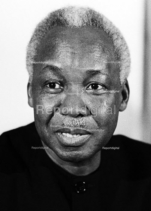 Julius Nyerere, President of Tanzania, London, 1985 - Stefano Cagnoni - 1985-03-20