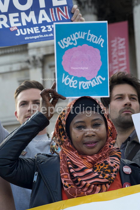 Yes To Europe rally, Trafalgar Square, London - Philip Wolmuth - 2016-06-21