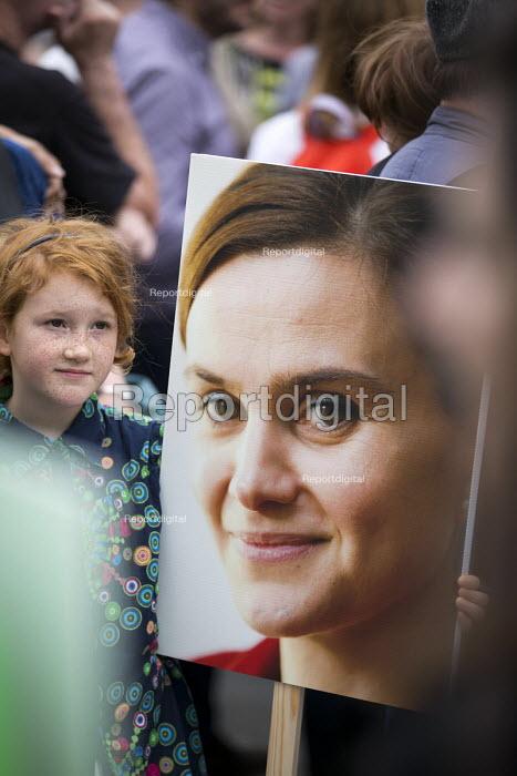 Memorial event for murdered Labour MP, Jo Cox. Love Like Jo Trafalgar Square, London - Jess Hurd - 2016-06-22