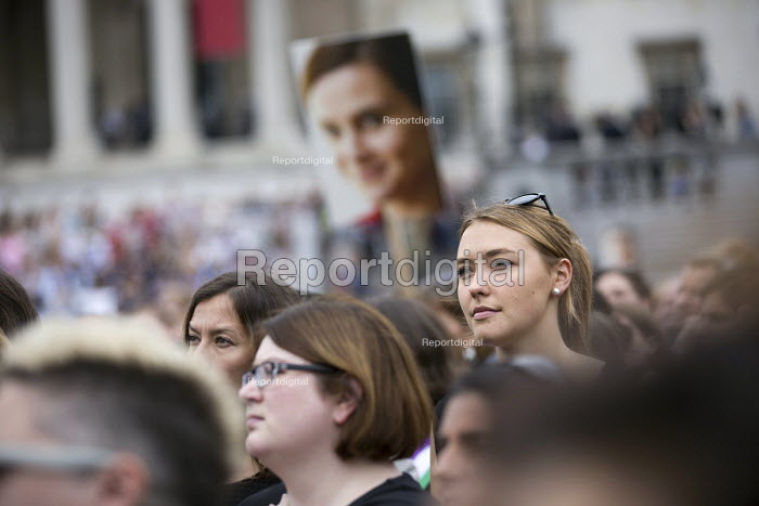 Memorial event for murdered Labour MP, Jo Cox. Love Like Jo Trafalgar Square, London - Jess Hurd - 2016-06-22