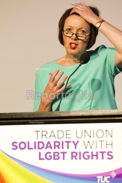 Frances O'Grady speaking, TUC LGBT Conference, Congress House, London - Jess Hurd - 2016-06-23