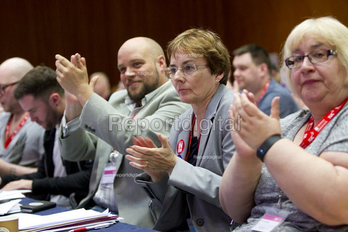 ATL delegates TUC LGBT Conference, Congress House, London. - Jess Hurd - 2016-06-23