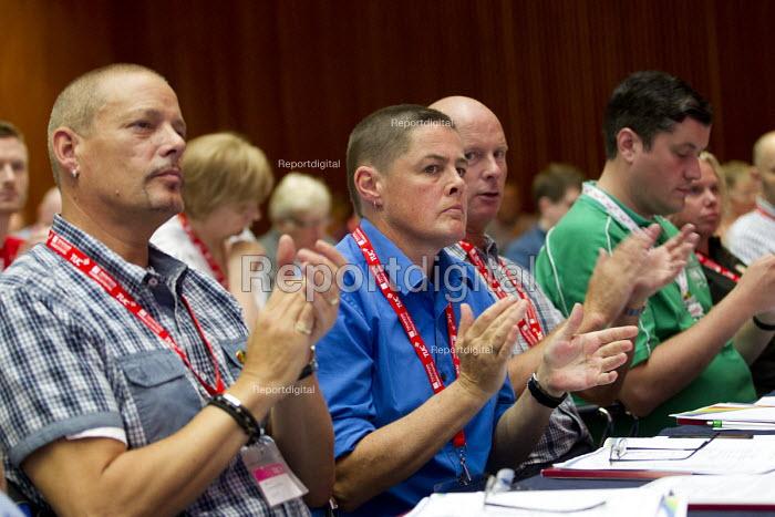 RMT delegates, TUC LGBT Conference, Congress House, London. - Jess Hurd - 2016-06-23