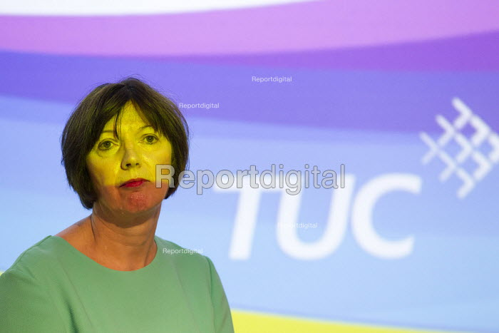 Frances O'Grady speaking at TUC LGBT Conference, Congress House, London. - Jess Hurd - 2016-06-23