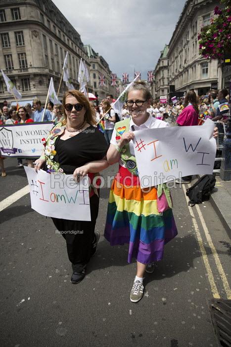 Islington Women's Institute, Pride in London Parade 2016 - Jess Hurd - 2016-06-25
