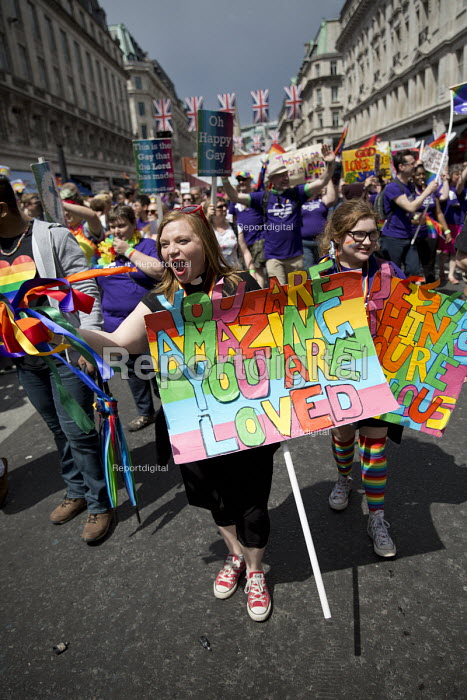 Christians, religious block at Pride in London Parade 2016 - Jess Hurd - 2016-06-25