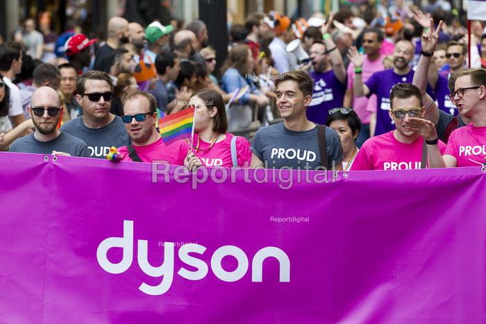 Dyson employees, Pride in London Parade 2016 - Jess Hurd - 2016-06-25