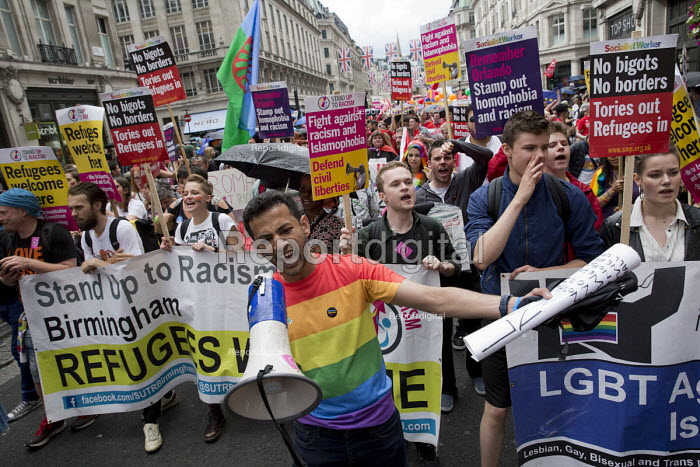 Stand Up to Racism, Pride in London Parade 2016 - Jess Hurd - 2016-06-25