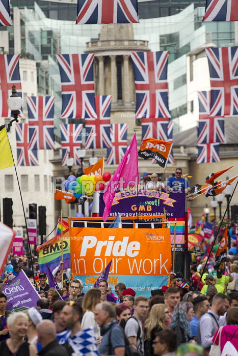 GMB at Pride in London Parade 2016 - Jess Hurd - 2016-06-25