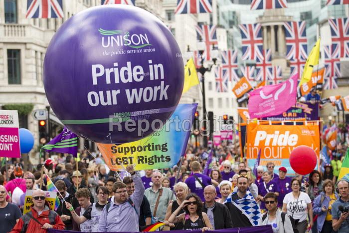 UNISON at Pride in London Parade 2016 - Jess Hurd - 2016-06-25