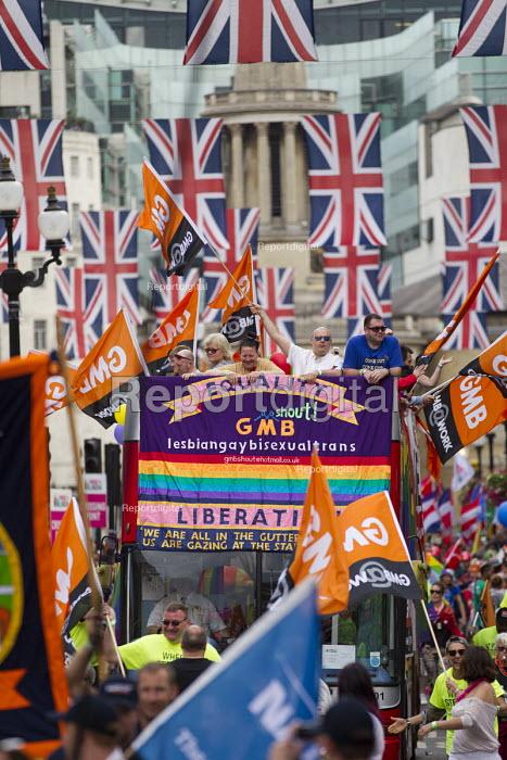 GMB at Pride in London Parade 2016 - Jess Hurd - 2016-06-25