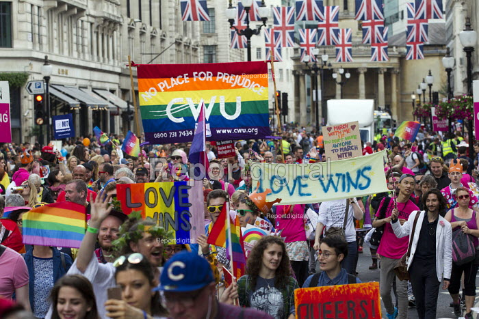 CWU at Pride in London Parade 2016 - Jess Hurd - 2016-06-25