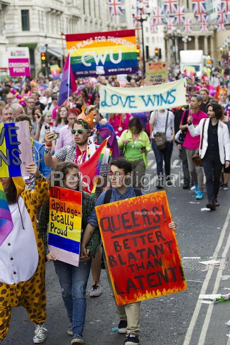 CWU at Pride in London Parade 2016 - Jess Hurd - 2016-06-25