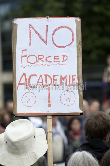 No Forced Academies! Keep Corbyn rally of supporters against Blairite leadership challenge, Bristol - Paul Box - 2016-06-28