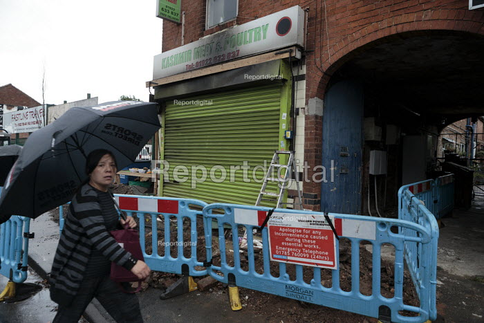 Halal butchers firebombed in alledged racist attack, Walsall - John Harris - 2016-06-29
