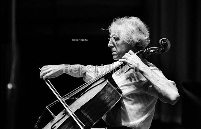 Paul Tortelier, French cellist and composer, London, 1973 - Peter Harrap - 1973-12-02