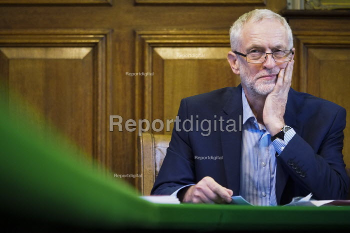 Durham Miners Gala 2016, Jeremy Corbyn at an eve of gala public meeting at Redhills, the HQ of Durham area NUM Durham City, Co Durham. - Mark Pinder - 2016-07-08
