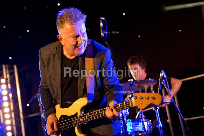 Tom Robinson performing at Tolpuddle Martyrs' Festival 2016. Dorset. - Jess Hurd - 2016-07-17