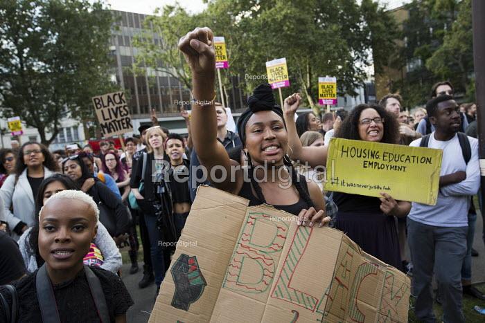 Black Lives Matter Shutdown, Altab Ali Park, Tower Hamlets, London - Jess Hurd - 2016-08-05