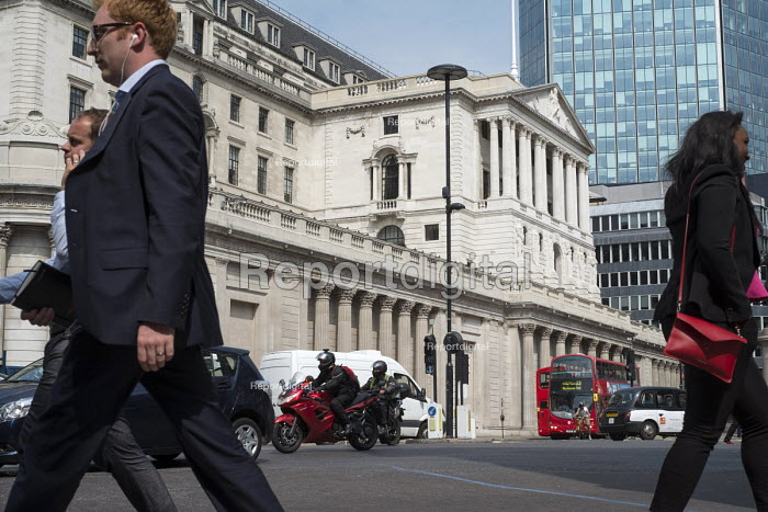 Bank of England, Threadneedle Street, City of London. - Philip Wolmuth - 2016-08-18