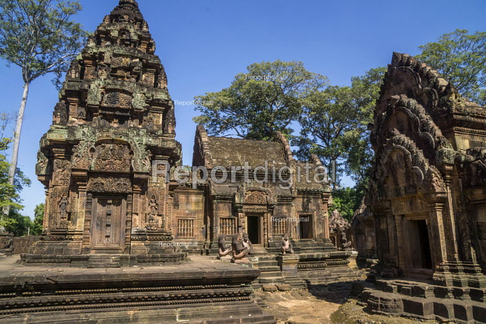 Cambodia, Banteay Srei temple - David Bacon - 2015-12-28
