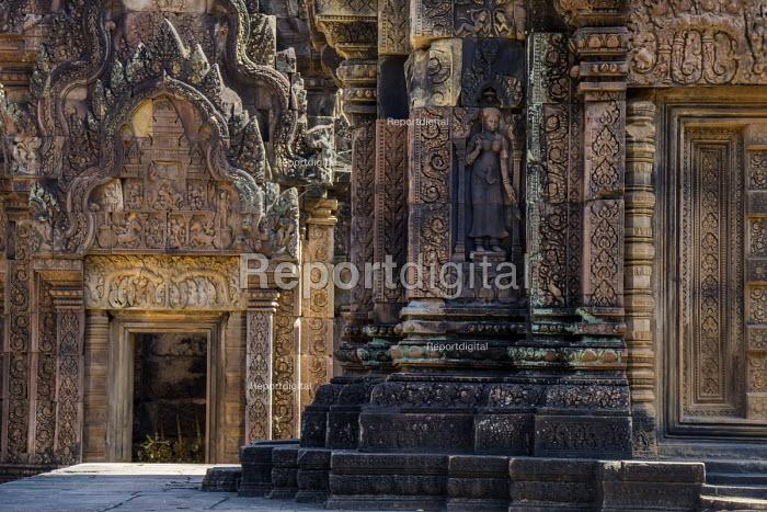Cambodia, Banteay Srei temple - David Bacon - 2015-12-28