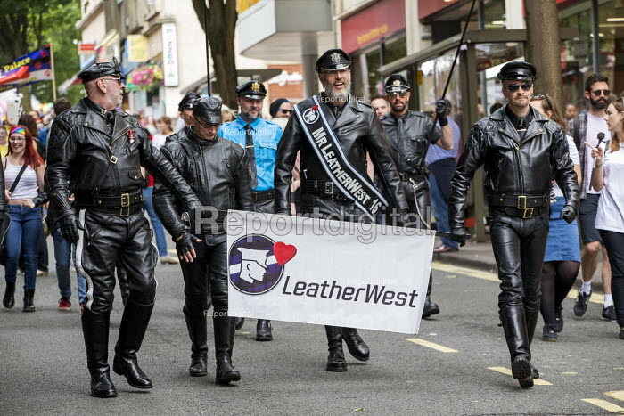 Pride Day Parade, Bristol. Mr LeatherWest - Paul Box - 2016-07-09