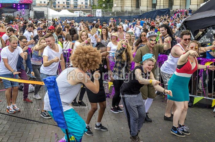 Pride Day Festival, Bristol. Egg and spoon race - Paul Box - 2016-07-09