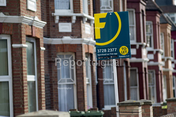 Foxtons estate agent boards, Cricklewood, London. - Philip Wolmuth - 2016-08-03