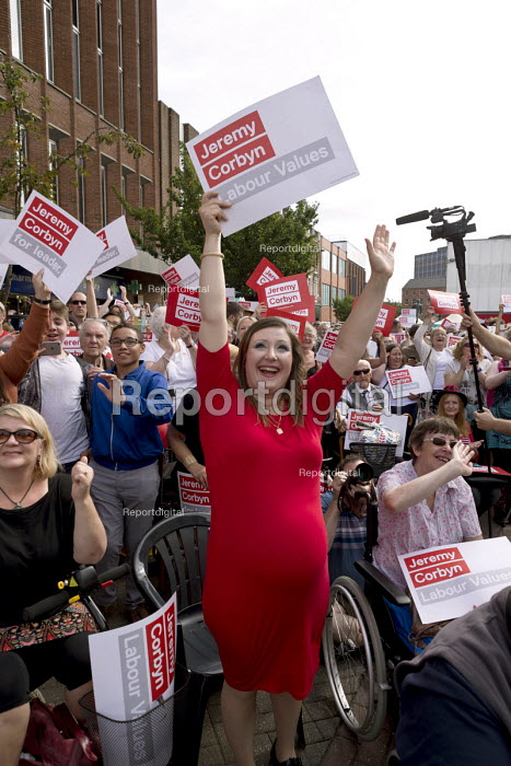 Jeremy Corbyn leadership election rally, Hanley, Stoke on Trent - John Harris - 2016-09-01